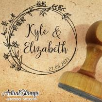 wedding photo - Wedding Stamp, Wedding Stamps, Customize Stamp, Personalized Stamp, Tampon Mariage, Stempel Hochzeit, Timbri Matrimonio, Sello Boda