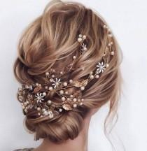 wedding photo - Bridal Hair Jewelry Wedding Bridal Accessories Bridal Hair Comb