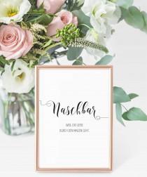 wedding photo - MAXIMA - Naschbar Wedding Sign, Candy bar sign, German, Wedding Print, Naschbar Print, Minimalist, Modern Art, Minimalist printable art
