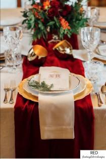 wedding photo - Velvet Table Runner, Christmas Decorations, Table Runner, Christmas Home Decor, Wedding, Wedding Decorations, Table Runner Boho, Table Cloth
