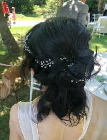 wedding photo - Bridal Hair Accessories, Wedding Hair Accessory, Wedding, Delicate, Hair Accessory, Silver, Gold, Rose Gold Wedding Hair Accessories