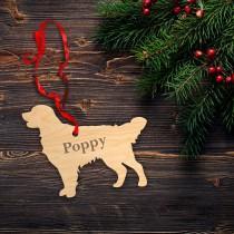 wedding photo - Golden retriever,golden retriever ornament,golden retriever christmas ornament,christmas ornament,Retriever Ornament ,Personalized Dog,28.2