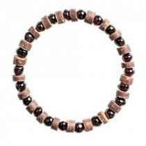 wedding photo - Amber Bracelet jewelry with Shall beads