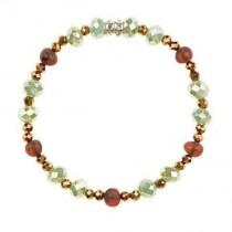 wedding photo - Amber bracelet with raw amber beads