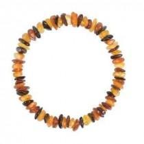 wedding photo - Chips Baltic amber bracelet