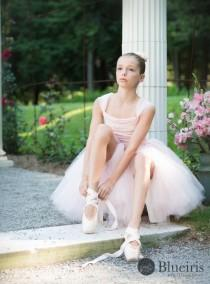 wedding photo - Flower Girl Dress, Flower Girl Tutu Dress, Ballerina Dress, Ballerina Tutu, Blush Pink and Ivory, Lce Top, Tutu Dress, Photo Prop