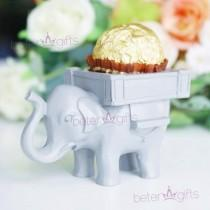 wedding photo - Lucky Elephant #ChocolateHolder #BridalShower favor #candyholder SZ040