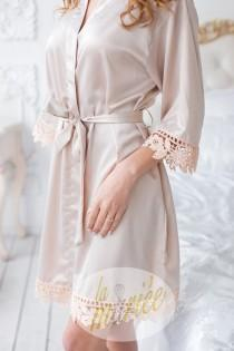 wedding photo - Silk Bridesmaid Robes