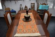 wedding photo - small size turkish table runner chenille fabric decorative table runner 17 inch x 39 inch bohemian decor colorful decorative table runners