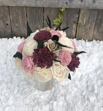 wedding photo - Sola Flower Bridal Bouquet