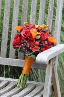 wedding photo - Wedding bouquet, bridal bouquet, silk wedding flowers, wedding flowers, silk bouquet, wedding bouquet set, destination wedding, weddings.