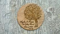 wedding photo - Save the Date Sample Wood Invitation Spring Wedding Summer Wedding Woodland Wedding Personalized Engraved Country Wedding