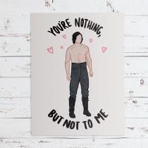 wedding photo - Kylo Ren Ben Solo Star Wars Greeting Card