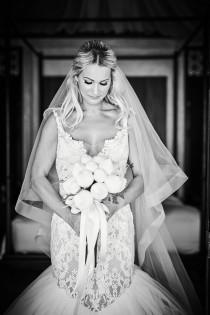 "wedding photo - 2"" Horsehair Tulle Veil, Ivory Horsehair Veil, bridal wedding Horsehair veil,soft Horsehair wedding drop veil, Drop chapel Horsehair veil"