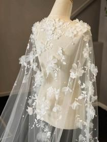 wedding photo - DRAPED IN FLOWERS