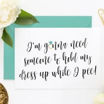 wedding photo - Funny Asking Cards, Funny Bridesmaid Proposal Cards, Funny Maid of Honor, Be My Bridesmaid, Be My MOH, Be My Maid of Honor