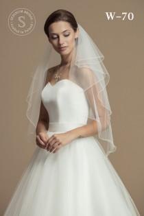 wedding photo - Bridal Veil made from High-Quality Tulle - Wedding Veil