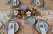wedding photo - Macrame Wedding Table Runner, Rustic Home Decor, Table Boho Wedding Decoration, Christmas decoration, Knot Table Runner, Natural Macrame