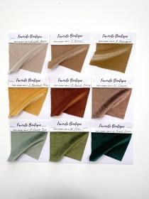 wedding photo - VELVET SWATCH SAMPLE Fabric Sample of Stretch Velvet