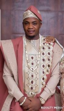 wedding photo - African AGBADA, AGBADA, AGBADA for men, African wedding suit, Groomsmen suit, Groom's suit, African 3 pieces suit, Dashiki suit, men's suit