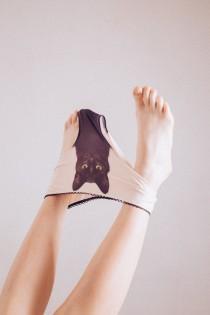wedding photo - Experienced fighter - black cat underwear