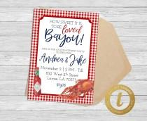 wedding photo - INSTANT DOWNLOAD: How Sweet it is to be Loved Bayou Invitation