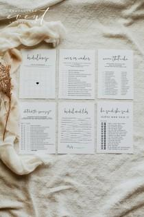 wedding photo - ADELLA  Modern Minimalist Bridal Shower Game Bundle, Minimal Bridal Shower Game Kit, Bridal Shower Games Printable, Simple Bridal Games
