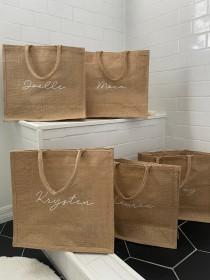 wedding photo - Burlap Bags Burlap Bag Burlap Tote Bag Burlap Tote Burlap Beach Bag Personalized Burlap Bags Custom Burlap Bag Burlap Tote Bag Personalised