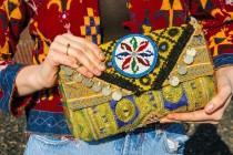 wedding photo - Vintage embroidered bag