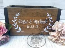 wedding photo - Wedding box for cards