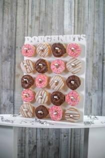 wedding photo - Doughnut Wall Donut Wall White. Various Sizes Available