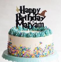 wedding photo - Harry Potter Custom Cake Topper