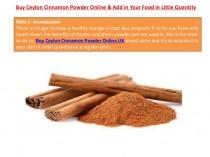 wedding photo - Buy Ceylon Cinnamon Powder Online & Add in Your Food in Little Quanti...