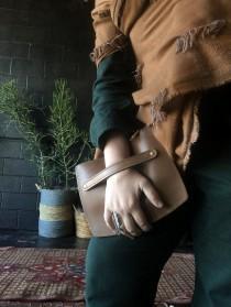 wedding photo - 100% Leather Clutch Locally Made