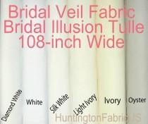 wedding photo - Bridal Veil Fabric