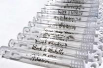 wedding photo - 42 Wedding Labels, Personalized Labels, Wedding Stickers, Custom Labels, Wedding bubble Label, Custom Clear Stickers, Foiled Labels