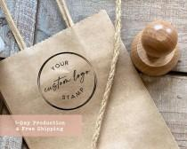 wedding photo - Custom Logo Stamp, Personalized Stamp, Business Stamp,  Self Ink, Branding Stamp, Rubber Stamps,