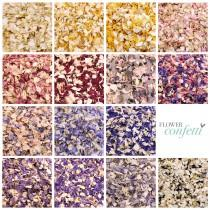 wedding photo - 1 Litre (8-10 handfuls) Biodegradable Flower Confetti