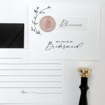 wedding photo - Bridesmaid Proposal Card