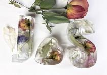 wedding photo - Resin letters, Wedding flower preservation keepsake - custom keepsake using your wedding bouquet