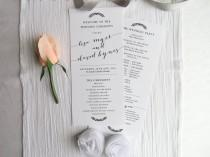 wedding photo - Wedding Programs