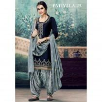 wedding photo - Casual Wedding Wear Punjabi Patiala Cotton Suits For Women Pakistani Salwar Suits Readymade With  Embroidery Stone Worked Heavy Net Dupatta