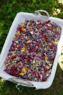 wedding photo - Biodegradable confetti, Wedding confetti, Petal Confetti , Flower confetti, Eco friendly confetti, Petal toss bags, Confetti packets