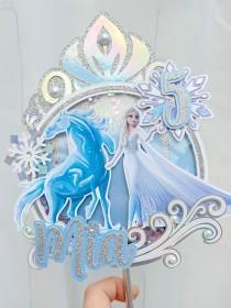 wedding photo - Frozen 2 Cake Topper