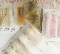 wedding photo - Tulle Fabric Samples