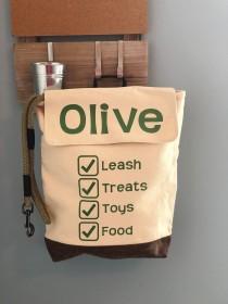 wedding photo - Dog Bag / Dog Luggage / Dog Backpack / Rucksack / Doggie Daycare / Boarding Bag / Playdate Bag