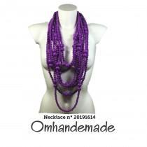wedding photo - 20191614 Long purple necklace layered multiphile necklace purple necklace statement necklace, boho chic necklace fashion necklace maxi necklace