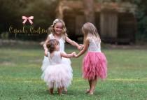 wedding photo - Flower girl dress, lace flower girl dress, boho flower girl dress, baby toddler lace dress