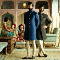 wedding photo - Sabyasachi Inspired Indian wedding dress that you will want for the most valuable day of his life sherwani for groom,Quilted Styled Sherwani