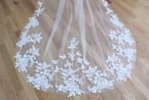 wedding photo - One Tier Soft Veil